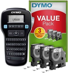 Labelprinter Dymo labelmanager LM160 qwerty valuepack
