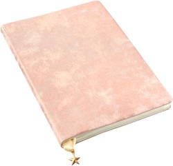 Notitieboek All that Glitters A5 Blush Satin