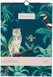 Verjaardagskalender Jungle