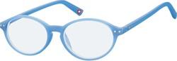Bril Montana blue light filter kids rond +0.00 dpt blauw