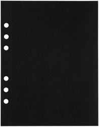 Tekenpapier MyArtBook A5 210gr 6-gaats 10vel zwart