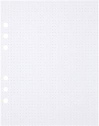 Tekenpapier MyArtBook A5 150gr 6-gaats 50vel dotted wit