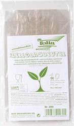 Cellofaanzak Folia 95x160mm transparant