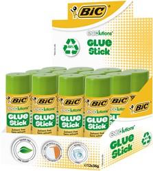 Lijmstift Bic Ecolutions 36gr 9+3 gratis