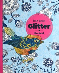 Kleurboek Interstat volwassenen glitter thema secret garden
