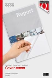 Voorblad Quantore A3 PVC 200 micron transparant 100 stuks
