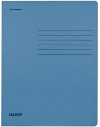 Dossiermap Falken A4 320gr blauw