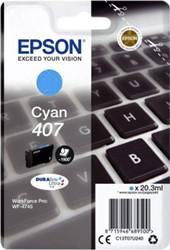 Inktcartridge Epson 407 T07U240 blauw