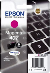 Inktcartridge Epson 407 T07U340 rood