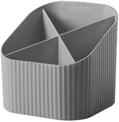 Pennenkoker Han Re-LOOP 4-vaks grijs