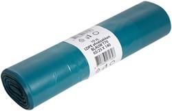 Afvalzak Powersterko T70 25x140cm 240liter blauw