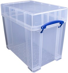 Opbergbox Really Useful 19 liter 395x255x330 mm transparant wit