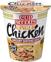 Noodles Nissin ginger chicken cup