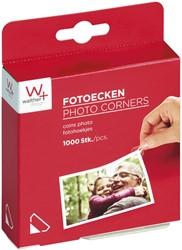 Fotohoekje Walther 10x15mm 1000 stuks
