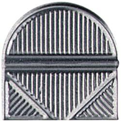 Hoekclips Alco 100stuks zilverkleurig