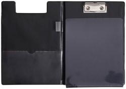 Klembordmap MAUL A5 staand met penlus zwart