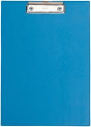 Klembordmap MAUL A4 staand met penlus lichtblauw