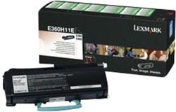 Tonercartridge Lexmark E360H31E zwart
