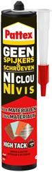 Montagekit Pattex Geen Spijkers & Schroeven High Tack 460gram
