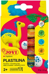 Boetseerklei Jovi Plastalina 15gram standaard kleuren