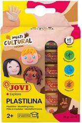 Boetseerklei Jovi Plastalina 15gram huidskleuren