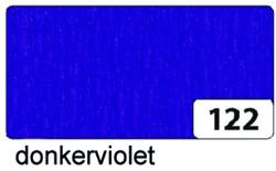 Crepepapier Folia 250x50cm nr122 donker violet