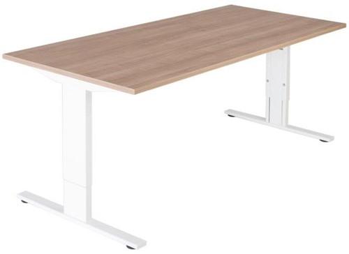 Bureautafel serie 50 160X80cm hoogte instelbaar 62-86cm