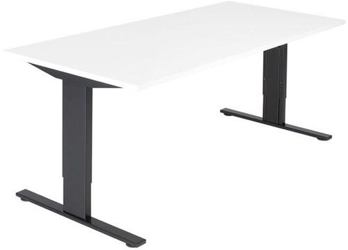 Bureautafel serie 50 160X80cm hoogte instelbaar 62-86cm-2
