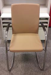Bezoekersstoel van Hilten Beige