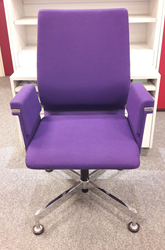 Bezoekersstoel Interstuhl Axos 160A speciale stof