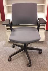 Bureaustoel Interstuhl Movy 13M2 Zwart/Donker Grijs (5801)