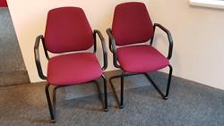 Bezoekersstoelen Interstuhl Leanos L550 set van 2 stuks (tweede hands)
