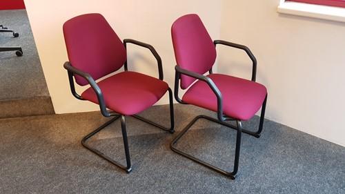 Bezoekersstoelen Interstuhl Leanos L550 set van 2 stuks (tweede hands)-2