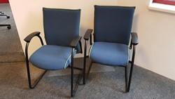 Bezoekersstoelen Interstuhl Ataros set van 2 stuks (opnieuw gestoffeerd)