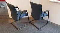 Bezoekersstoelen Interstuhl Ataros set van 2 stuks (opnieuw gestoffeerd)-3