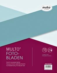 Interieur Multo fotobladen A4 23-rings met dekvel 20vel chamois