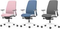 Bureaustoel Interstuhl New Every Interior Editions wit / stof Era - Azure Blue