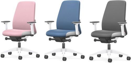 Bureaustoel Interstuhl New Every Interior Editions wit / stof Era - Quartz Grey