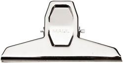 Papierklem MAUL Pro 125mm capaciteit 30mm blister à 2 stuks