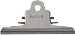 Papierklem MAUL Classic RVS 147mm capaciteit 20mm