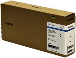 Inktcartridge Canon PFI-710 blauw