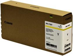 Inktcartridge Canon PFI-710 geel