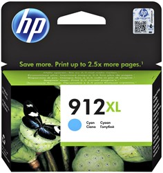 Inktcartridge HP 3YL81AE 912XL blauw