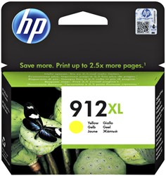 Inktcartridge HP 3YL83AE 912XL geel