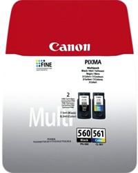 Inktcartridge Canon PG-560 CL-561 zwart + kleur