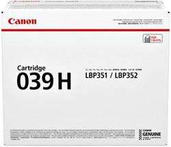 Tonercartridge Canon 039H zwart