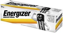 Batterij Industrial D alkaline doos à 12 stuks