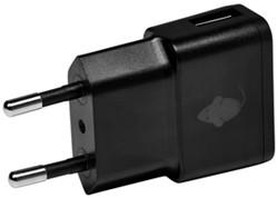 Oplader Green Mouse USB-A 1X 1A zwart