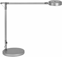 Bureaulamp MAUL Grace LED voet dimbaar colour vario zilver