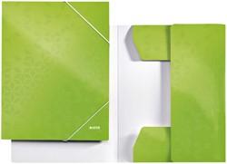 Elastomap Leitz WOW 3-kleps A4 karton groen